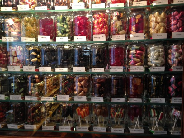 Jill's pic Candy Jars at Somods Bolcher