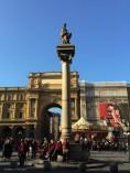 Colonna dell'Abbondanza (the Column of Abundance) in Piazza della Repubblica. I had never really noticed this before today.