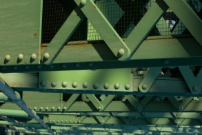 Bridge girders.