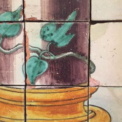Detail from the panel.