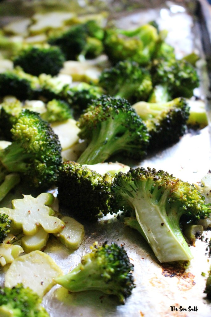 Easy and Quick Roasted Lemon Broccoli