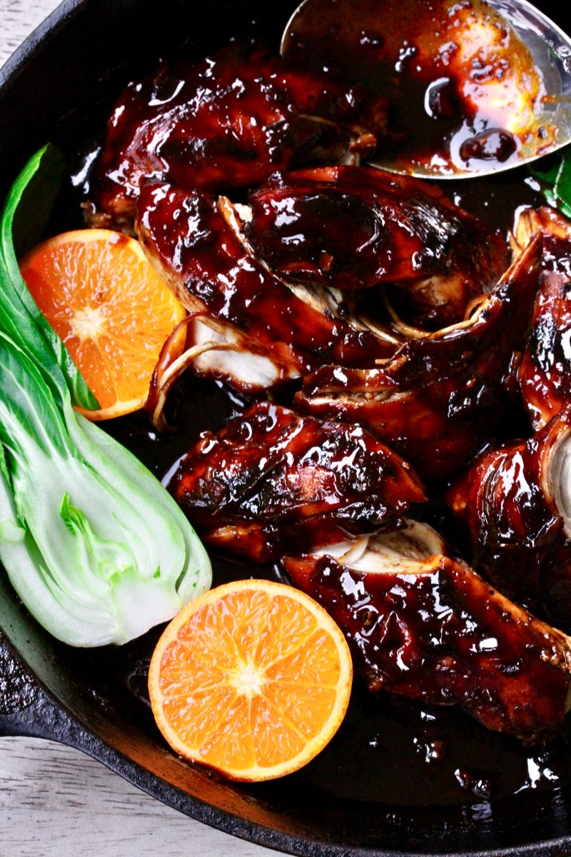 Braised Mandarin Ginger Chicken