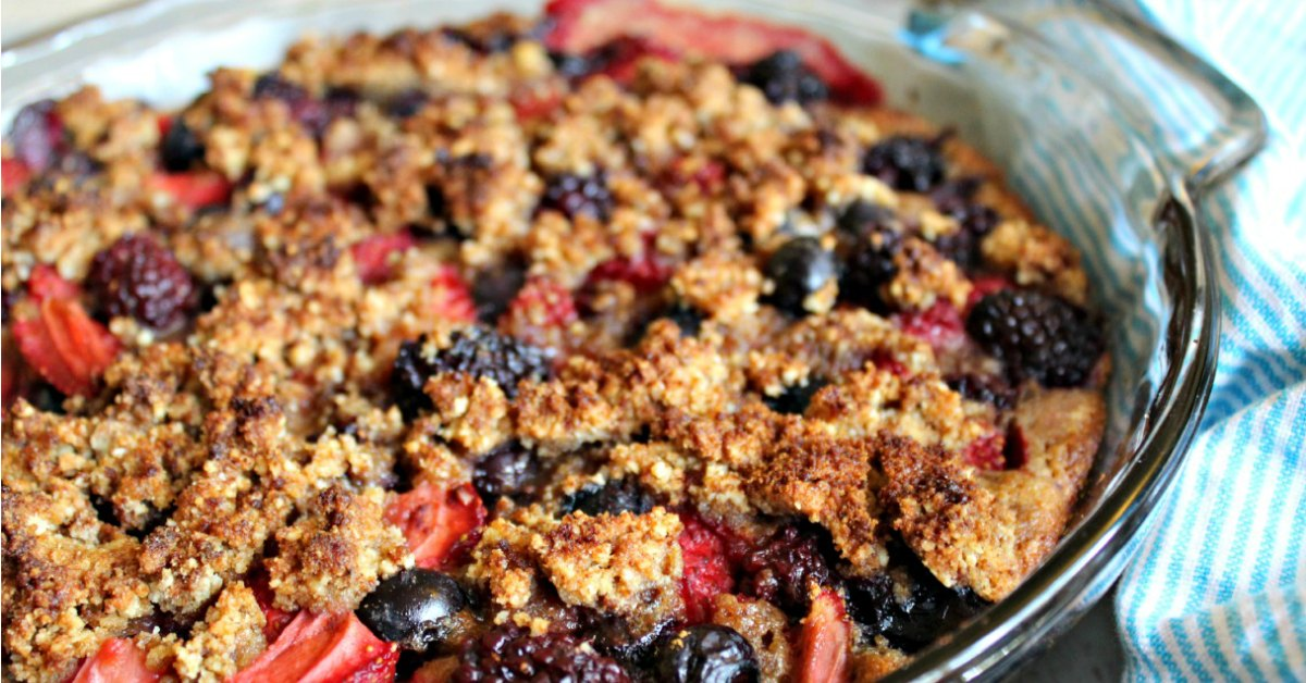 3 Berry Cobbler Recipe