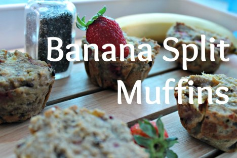 Banana Split Muffins