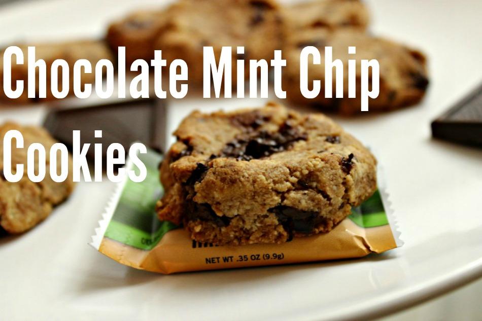 Homemade Mini Chocolate Chip Mint Cookies - The Seasonal Diet  Homemade Mini C...
