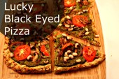 Lucky Black Eyed Pizza