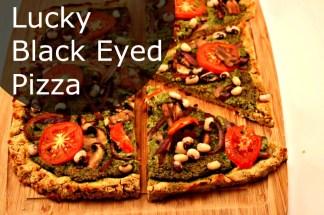 Lucky Black Eyed Pizza
