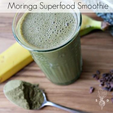Moringa Superfood Smoothie
