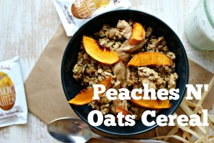 Peaches N Oats Cereal