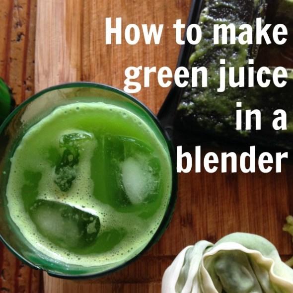 juice-in-a-blender