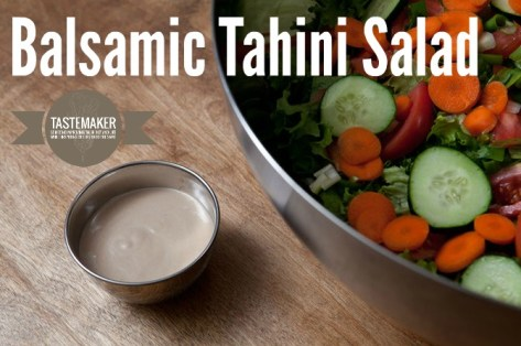 Balsamic Tahini Salad