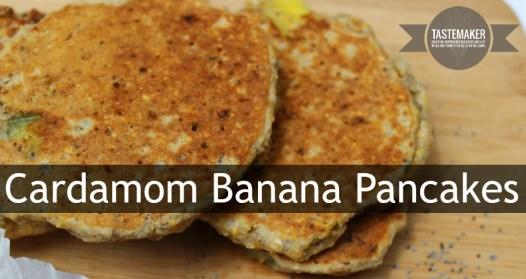 Cardamom Banana Pancakes