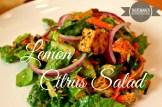 Lemon Citrus Salad