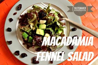 Macadamia Fennel Salad