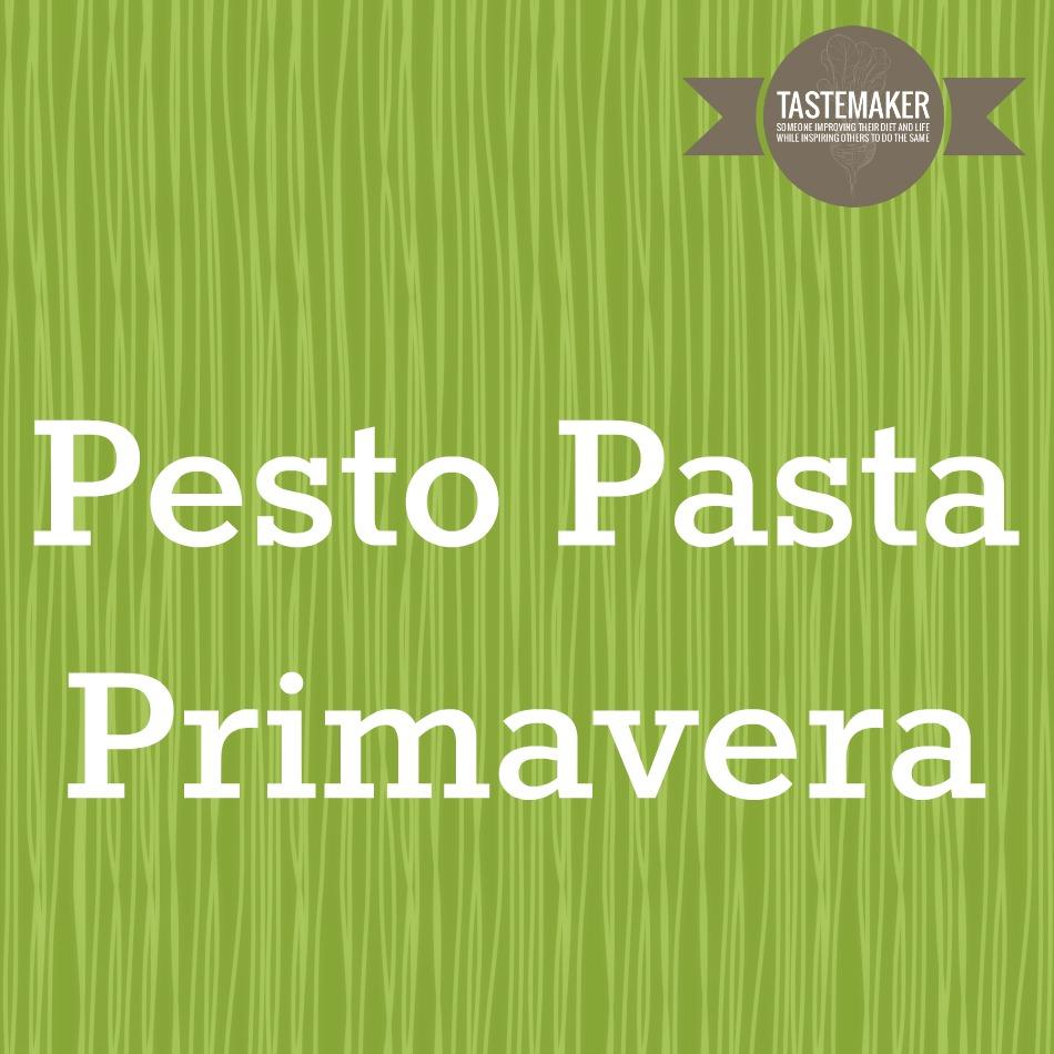 Pesto Pasta Primavera