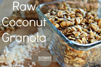 Raw Coconut Granola