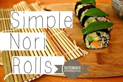 Simple Nori Rolls