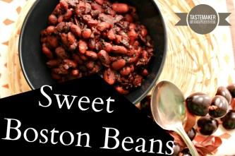 Sweet Boston Beans