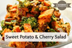 Sweet Potato & Cherry Salad