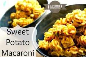 Sweet Potato Macaroni