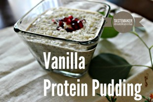 Vanillia Protein Pudding