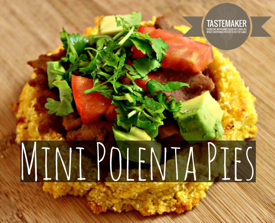 Mini Polenta Pies