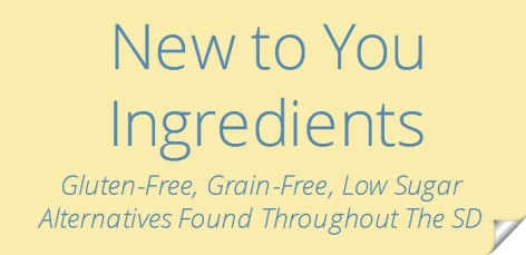 New to you Ingredients