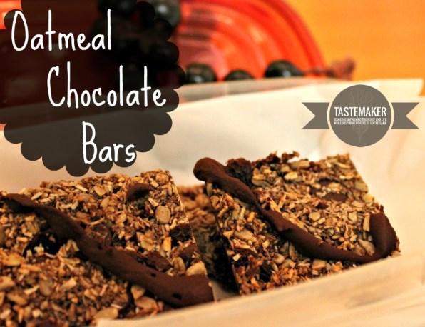 Oatmeal Chocolate Bars