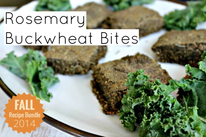 Rosemary Buckwheat Bites