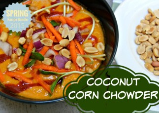 Coconut Corn Chowder.