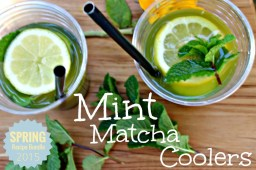 Mint Macha Cooler.