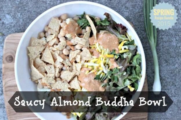 Saucy Almond Buddha Bowl.