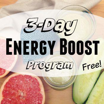 3 day energy boost program