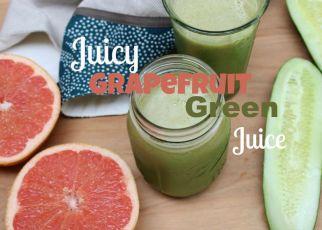 Juicy Grapefruit Green Juice