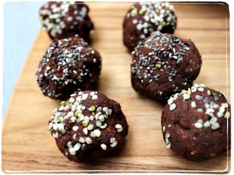 energy balls grain free snack