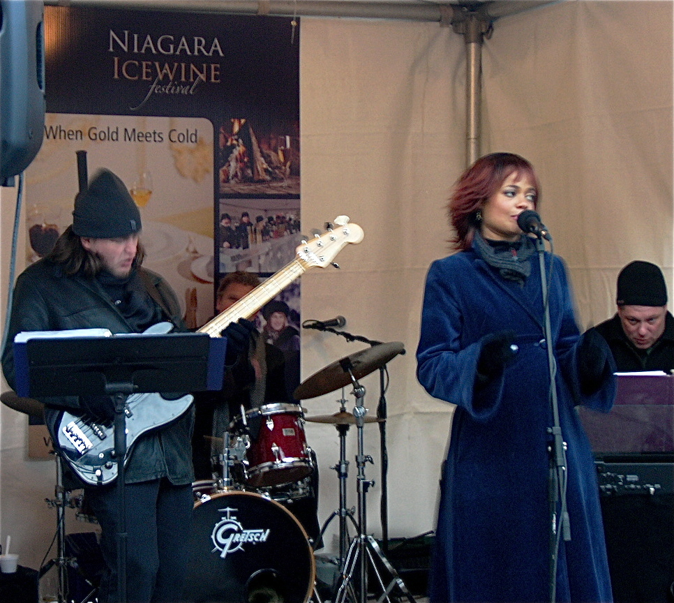 Entertainment at the festival