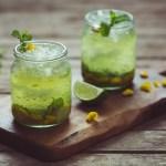 Gorse Flower and Raw Honey Mojito -- Seasonal Food | https://theseasonaltable.co.uk/drinks/gorse-flower-and-raw-honey-mojito/