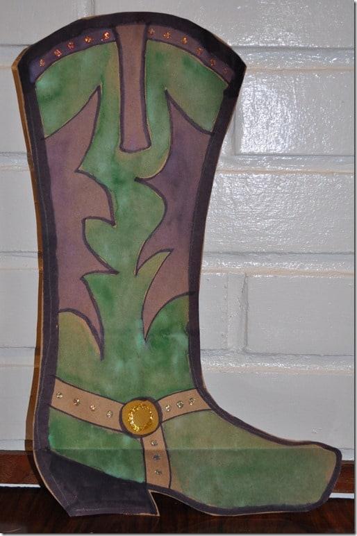 cowboy boot craft