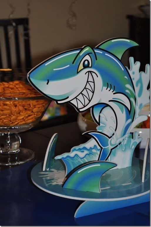 A Shark Themed Birthday Party The Seasoned Mom