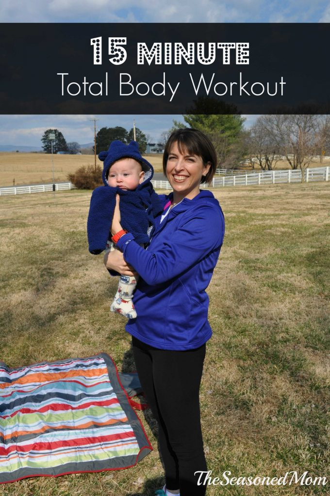 15 Minute Total Body Workout