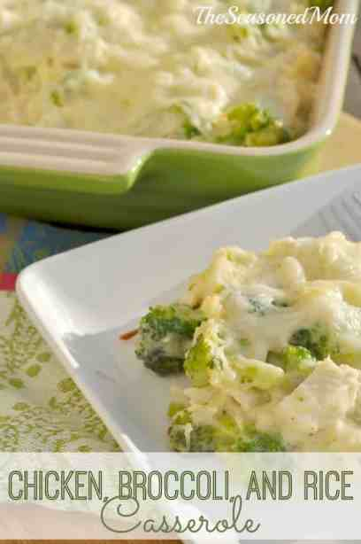Chicken, Broccoli, and Rice Casserole
