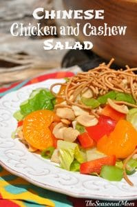 Chinese Chicken and Cashew Salad