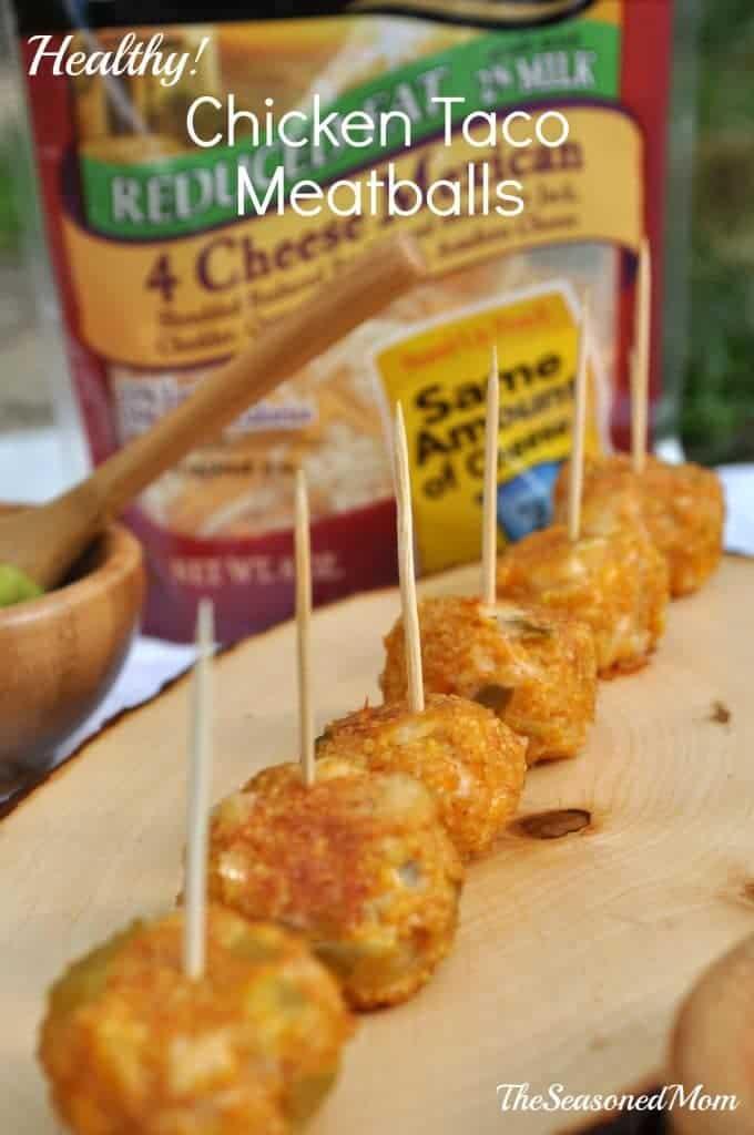 Healthy Chicken Taco Meatballs 2