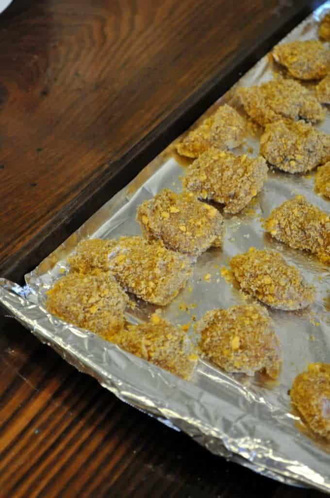 Goldfish Chicken Nuggets 4