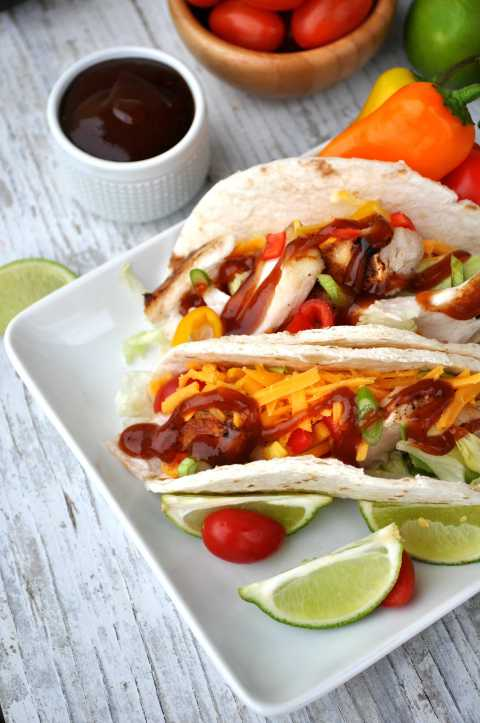 Easy Barbecue Fish Tacos 10