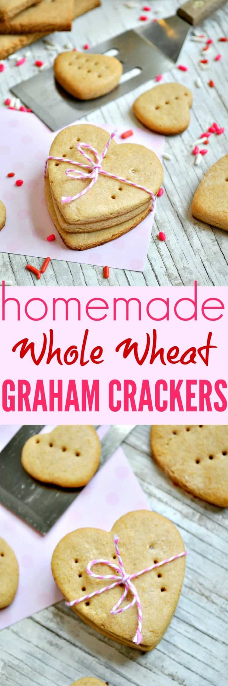 Homemade Whole Wheat Graham Crackers