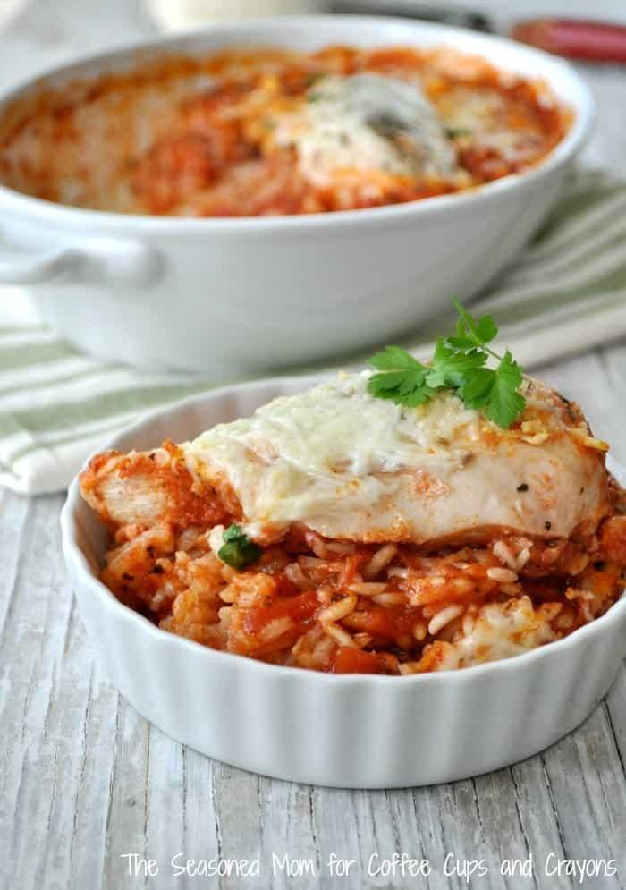 Italian Chicken and Rice 7