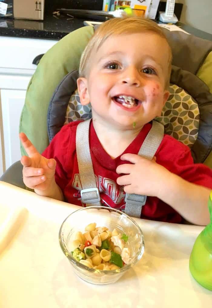 Spencer Eating 2