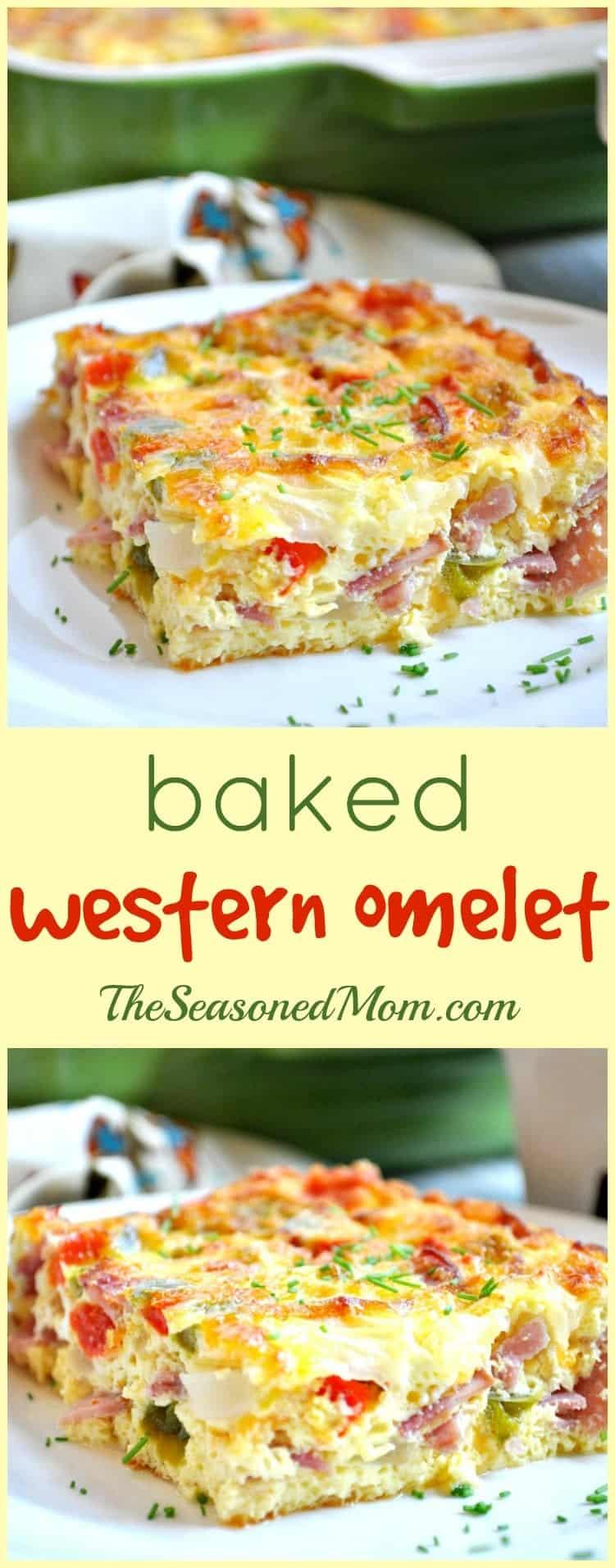 Baked Western Omelet