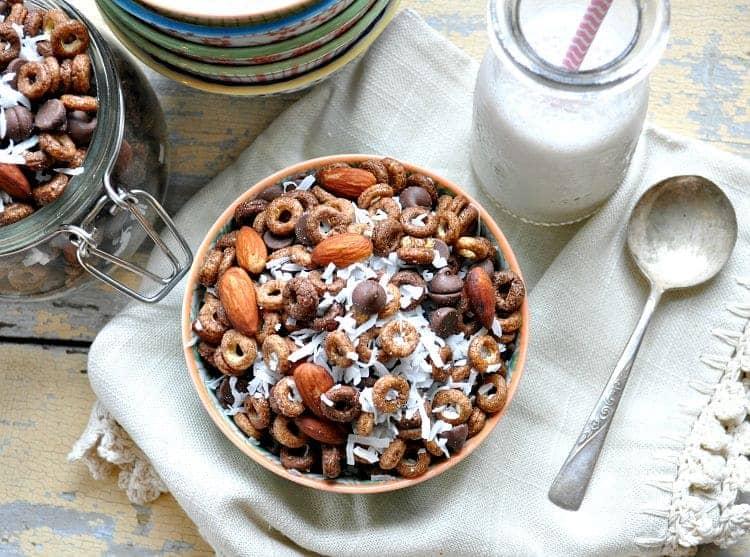 Almond Joy Snack Mix 7
